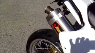 Supermoto  SUZUKI DR650 akrapovic exhaust