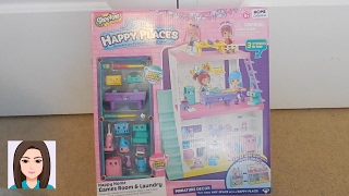 getlinkyoutube.com-Shopkins Happy Places Happy Home Games Room & Laundry Review