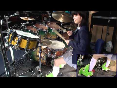 K-ON!  けいおん! Unmei♪wa♪Endless!  drum cover  叩いてみた