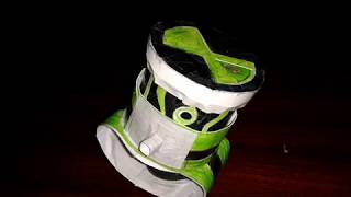 getlinkyoutube.com-BEN 10 ALIEN FORCE PAPER OMNITRIX