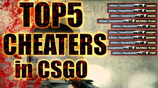 getlinkyoutube.com-TOP 5 CHEATERS in COUNTER STRIKE:GLOBAL OFFENSIVE (CSGO)