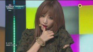 getlinkyoutube.com-【HD繁體中字】 150417 EXID - Ah Yeah  @  Mnet M! Countdown