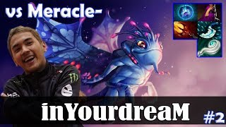 inYourdreaM - Puck MID   vs Meracle- (MK) 7.08 Update Patch   Dota 2 Pro MMR Gameplay #2