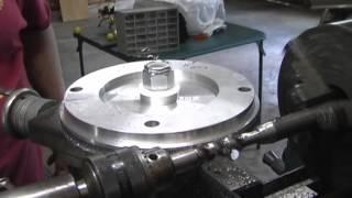 getlinkyoutube.com-Gear Cutting on a Engine Lathe