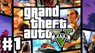 Grand Theft Auto 5 - Gameplay Walkthrough Part 1 - Prologue (GTA 5, Xbox 360, PS3)