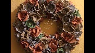 getlinkyoutube.com-Blumen aus Eierpappen 11 01 2017