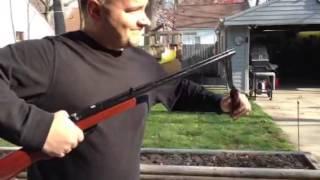 Benjamin 312 .22cal Pellet Rifle - Refinished