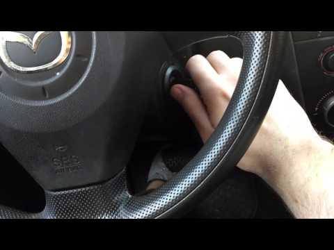 Обучение стеклоподъемников Mazda 3 BK 2003—2009