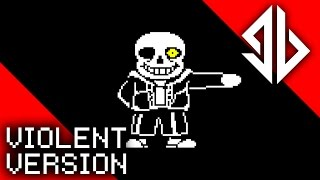 getlinkyoutube.com-Bold Sans | Undertale Song | Groundbreaking [Violent Version]