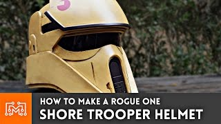 Star Wars Rogue One Shore Trooper Helmet (3d printed) // How-To