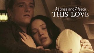 getlinkyoutube.com-Katniss & Peeta | This Love  [reuploaded]
