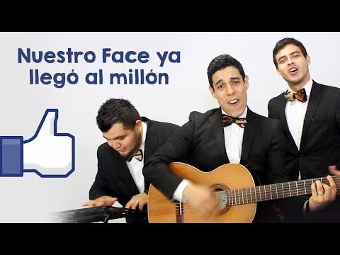 Nuestro Face ya llegó al millón - Los Tres Tristes Tigres