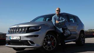 getlinkyoutube.com-Jeep Grand Cherokee SRT 2015 غراند شيروكي إس آر تي