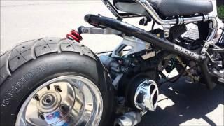 Honda ruckus GY6 170cc first startup