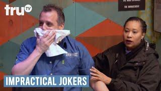 Impractical Jokers: Inside Jokes - Joe One - Throats a Chicken Tender   truTV