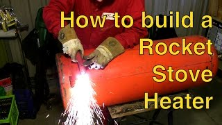 getlinkyoutube.com-Rocket Stove Heater Build