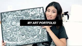 getlinkyoutube.com-My Art // Accepted RISD & PARSONS Portfolio