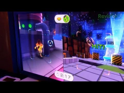 Nintendo Wii U Gameplay Demo from CES 2012