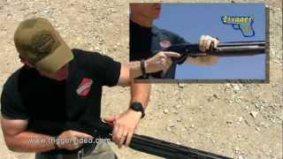 getlinkyoutube.com-Tactical Reloading a Shotgun with a Side Saddle Shell Carrier