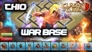 getlinkyoutube.com-clash of clans-INCREDIBLE TH10  WAR BASE 275 WALLS SPEED-BUILD