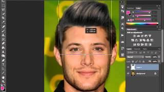 getlinkyoutube.com-كيفية تركيب الشعر باستخدام برنامج #الفوتوشوب
