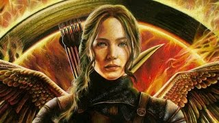Drawing Jennifer Lawrence in Hunger games, or Katniss Everdeen