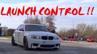 getlinkyoutube.com-Launch Control Bmw 1M / M3 e92 / M5 f10