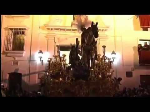 IMPRESIONANTE Santisimo Cristo de las Tres Caidas Triana.2012.De Pureza a Altozano.ININTERRUMPIDO