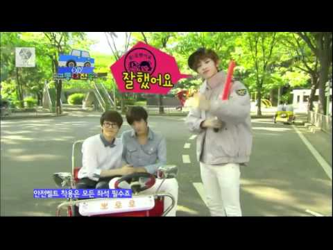 [12.06.03] EXO K ~ Traffic Safety Song -kDdUI8OsKMY