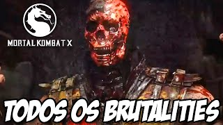 getlinkyoutube.com-Mortal Kombat X - TODOS OS BRUTALITIES