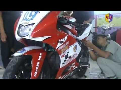 PROSES MODIFIKASI VIXION - MOTOGP M1, TEKNIK SEPEDA MOTOR TSM SMK YOSONEGORO MAGETAN - JAWA TIMUR