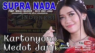 Kartonyono Medot Janji ( Denny Caknan )cover Supra Nada Voc. Levy Brilia