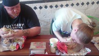 getlinkyoutube.com-Mad Mex 1 kg Burrito Challenge!
