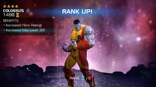 getlinkyoutube.com-Ranking Up 7 Champions including 4-Star Colossus | Marvel Contest of Champions