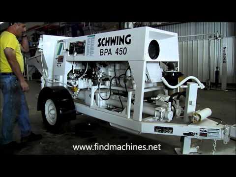 2006 schwing bpa450 0257 Bomba de concreto para la venta