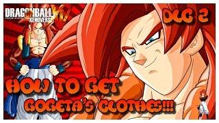 getlinkyoutube.com-Dragonball Xenoverse How to get Gogeta's clothes