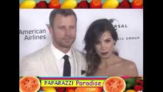 getlinkyoutube.com-DIERKS BENTLEY and wife CASSIDY BLACK attend party following Grammy Awards