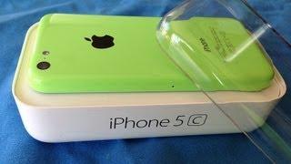 Unlocked Green iPhone 5c Unboxing