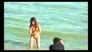 getlinkyoutube.com-Bugil Di pantai Cewek Bohai By Bali Beach
