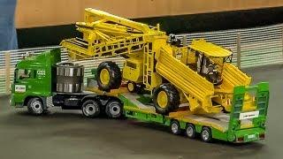 getlinkyoutube.com-Amazing R/C Trucks in Action! Nice detailed RC Siku Trucks in 1:32.