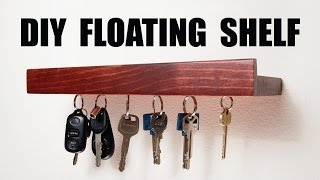getlinkyoutube.com-DIY Floating Shelf