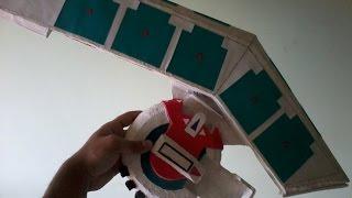 getlinkyoutube.com-Como Hacer mi Disco de duelo casero! (my homemade duel disk!)