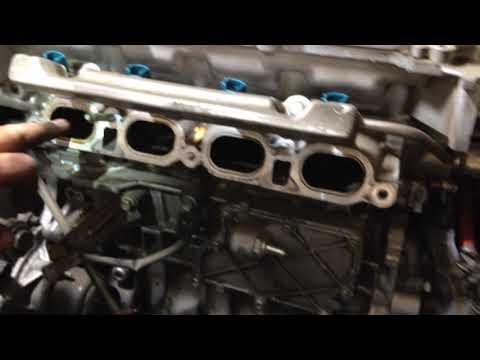 Замена прокладки ГБЦ (головки блока цилиндров) Toyota Prius 30 Часть 2