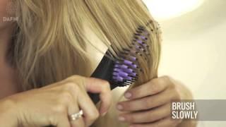 Dafni Hair Straightening Brush - How to Video