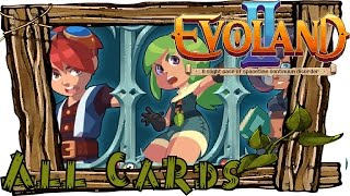 getlinkyoutube.com-EVOLAND 2 All Card Locations | Game of Cards | Collector Achievement