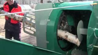 getlinkyoutube.com-Mottimaster L - traktorikäyttöinen klapikone