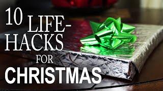 getlinkyoutube.com-10 Life Hacks You Need To Know For Christmas!