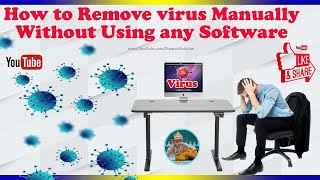 getlinkyoutube.com-How to Delete virus manually without using antivirus software or CD