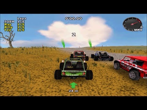 3/4: 4x4 Jam Dreamcast New Racing Game Publish by JoshProd 2017