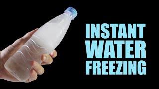 getlinkyoutube.com-Instant Water Freezing - 5 Amazing Tricks